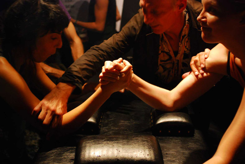 ARM WRESTLING - Elena Montesinos - The Montesinos Foundation
